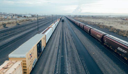 多量廃棄物を積んだ貨物列車が停車!町中に悪臭漂い住民怒り心頭!