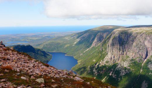 [世界遺産]カナダ・ユネスコ自然遺産、グロスモーン国立公園!地図・テーブルランド!