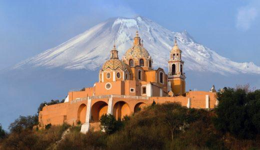 世界最大ピラミッド、メキシコ・チョルーラ!アステカ時代繁栄トラチウアルテペトル神殿